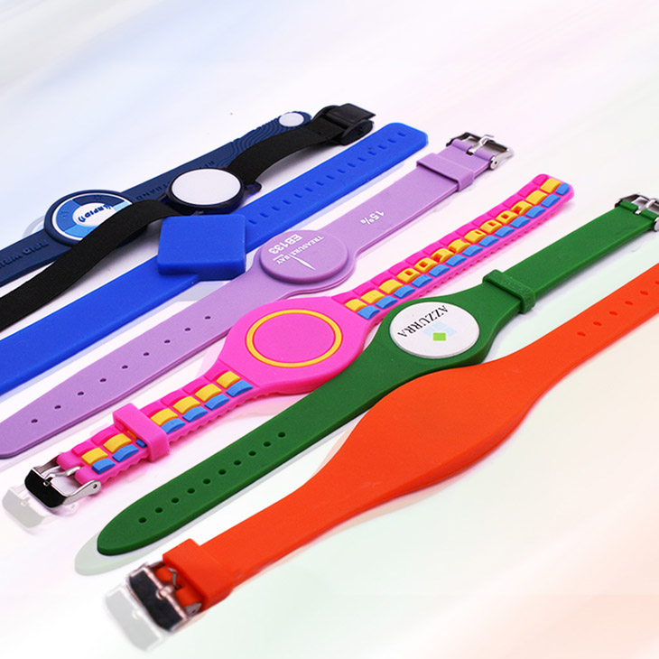 Watch Style RFID Silicone Wristband