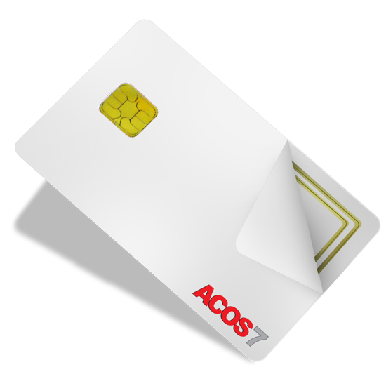 Dual Frequency RFID Smart Card