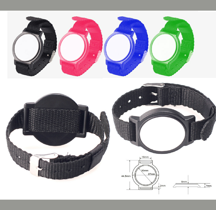 Colorful RFID Nylon Wristband Series