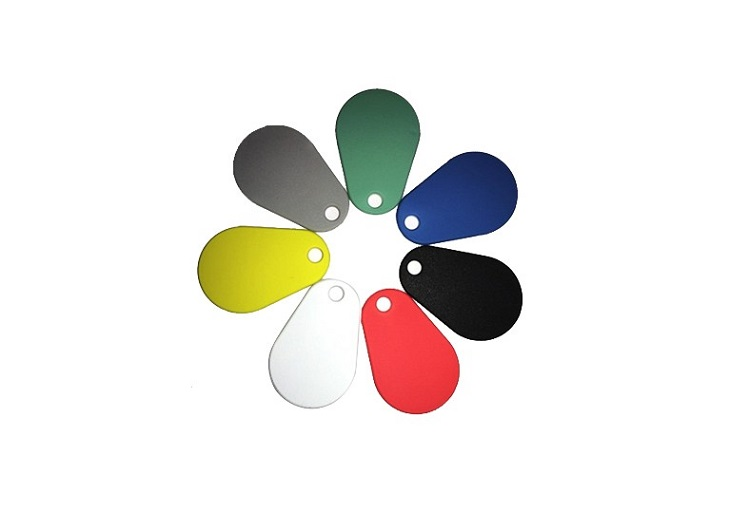 Colorful RFID Silicone Key Chian Tag
