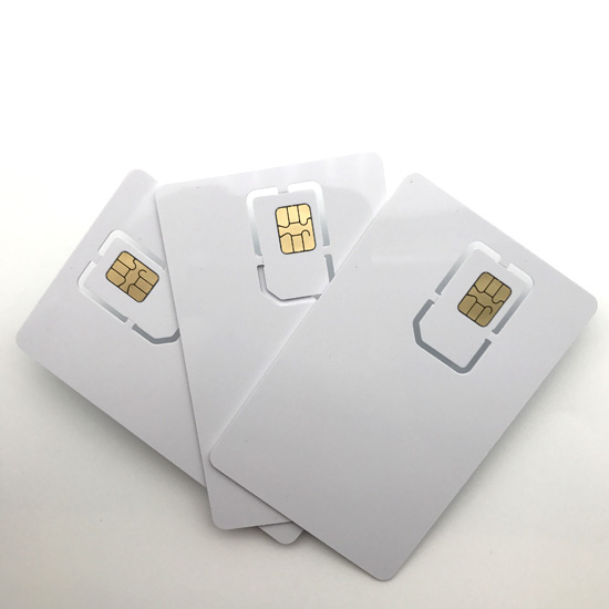 Plastic RFIDNFC SIM Card Contact Card