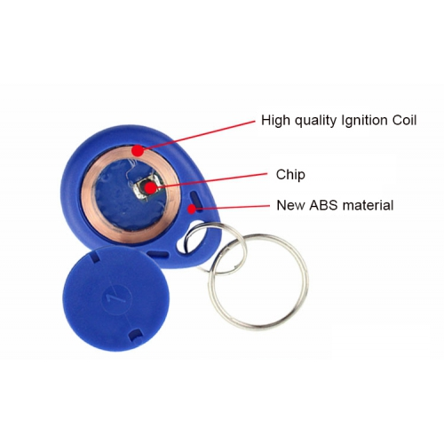 NFC Keyfob Structure