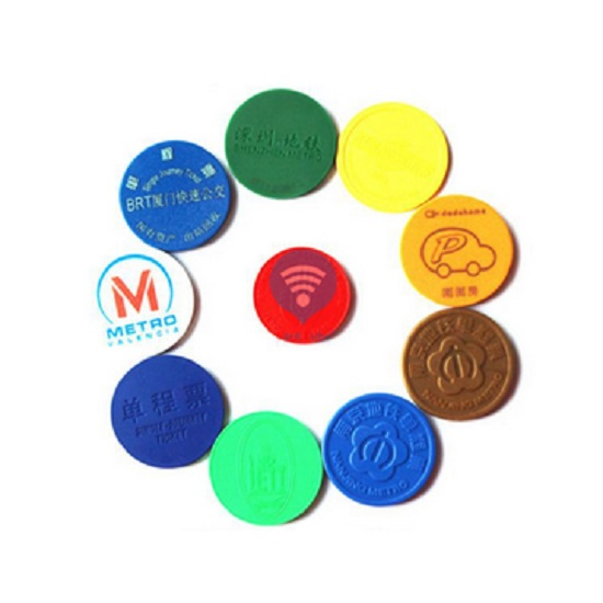 RFID Waterproof Metro Coin Token
