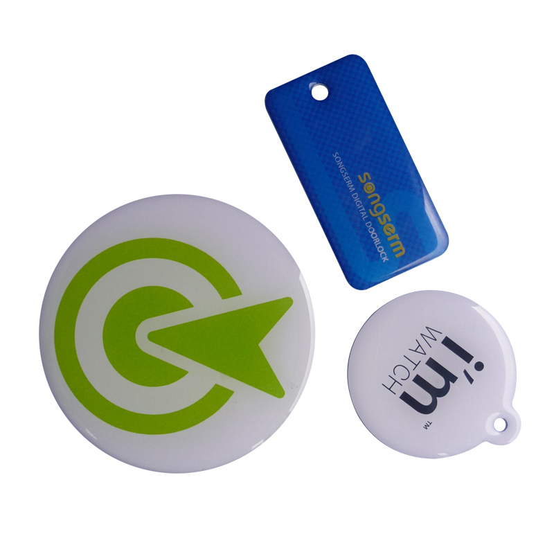 NFC Epoxy Crystal Tag