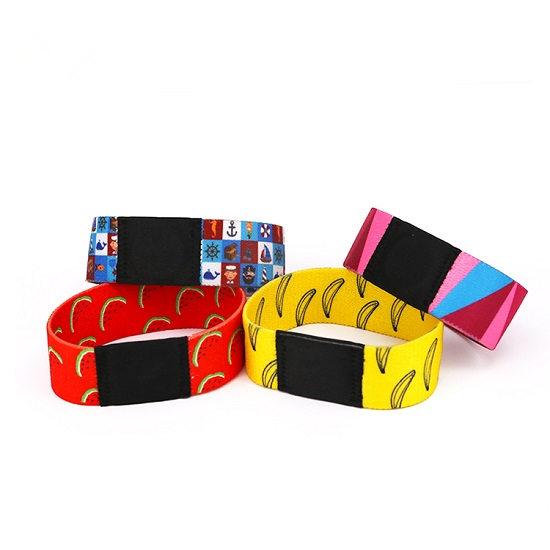 Elastic Fabric NFC Woven Wristband Festival