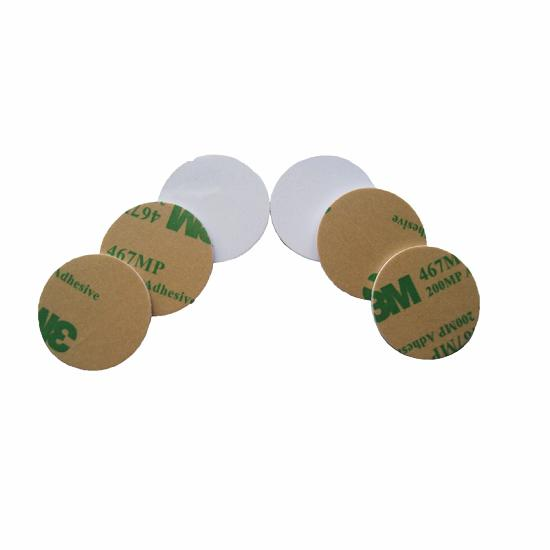 Adhesive RFID PVC Coin Tag