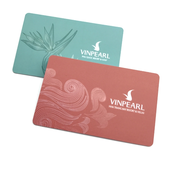 Offset Printing Loyalty Card With UV Spot