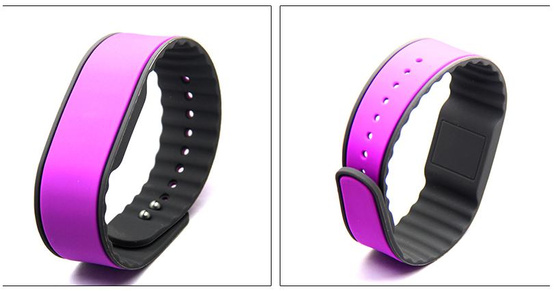 adjust silicone bracelet