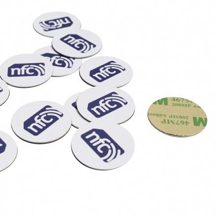 HF Adhesive RFID Coin Tag
