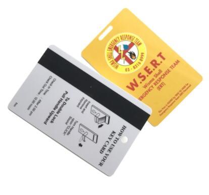 RFID hotel lock card