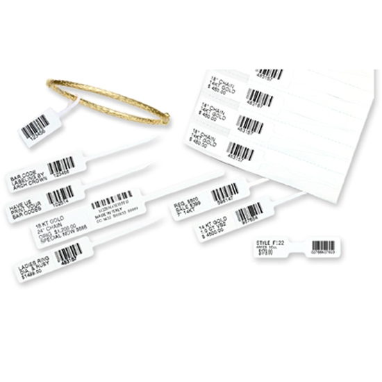 Rfid Thermal Roll Jewelry Barcode Printable Tag