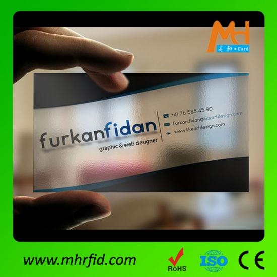 Best plastic visiting card transparent cardcustom plastic visiting plastic visiting card transparent card colourmoves