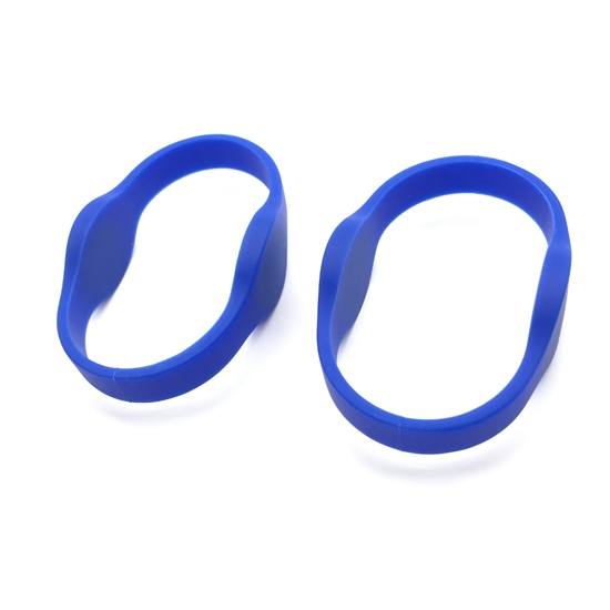 Dual Frequency Silicone RFID Wristband