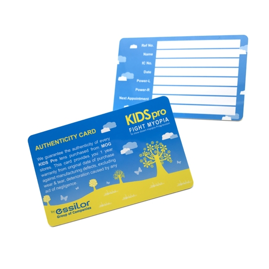 Printed PVC Membership Card