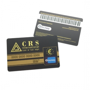 Custom Barcode Membership Card