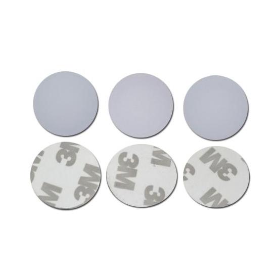 Wholesale TK4100(EM4200) 125khz RFID 3M Stickers Coins 25mm,Custom