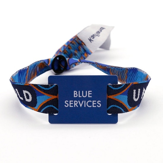 Full Colour Fabric Wristbands