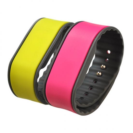 China Adjustable NFC Ultralight C silicone bracelet rfid