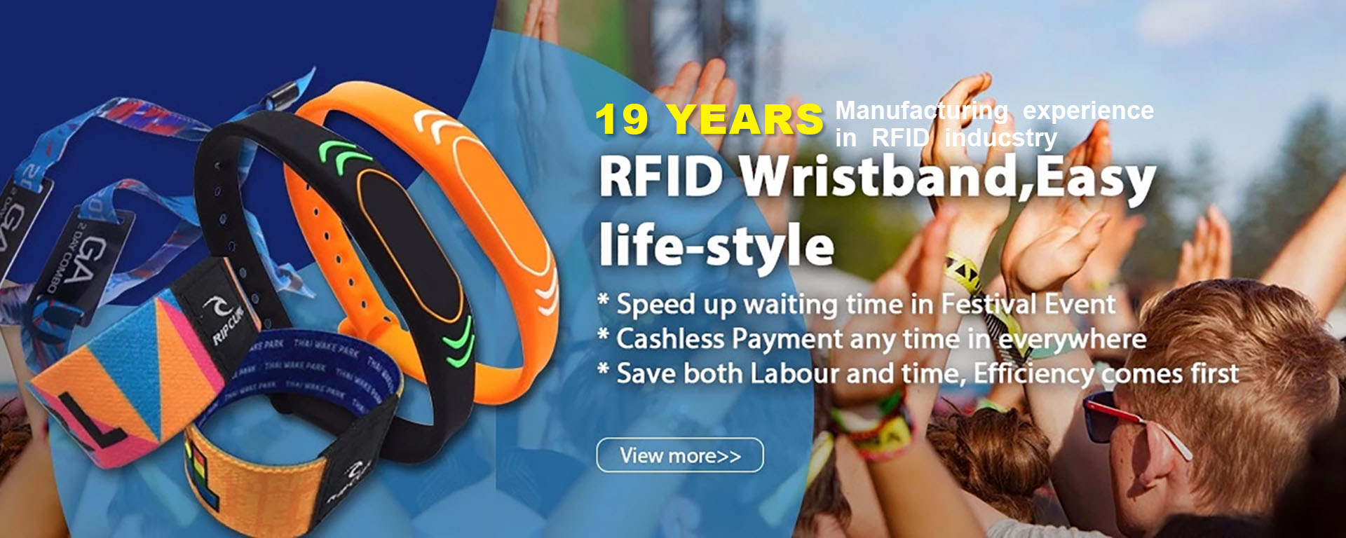 Customized RFID Bracelets