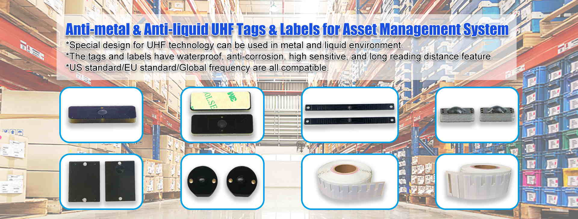 RFID Flexible UHF Label