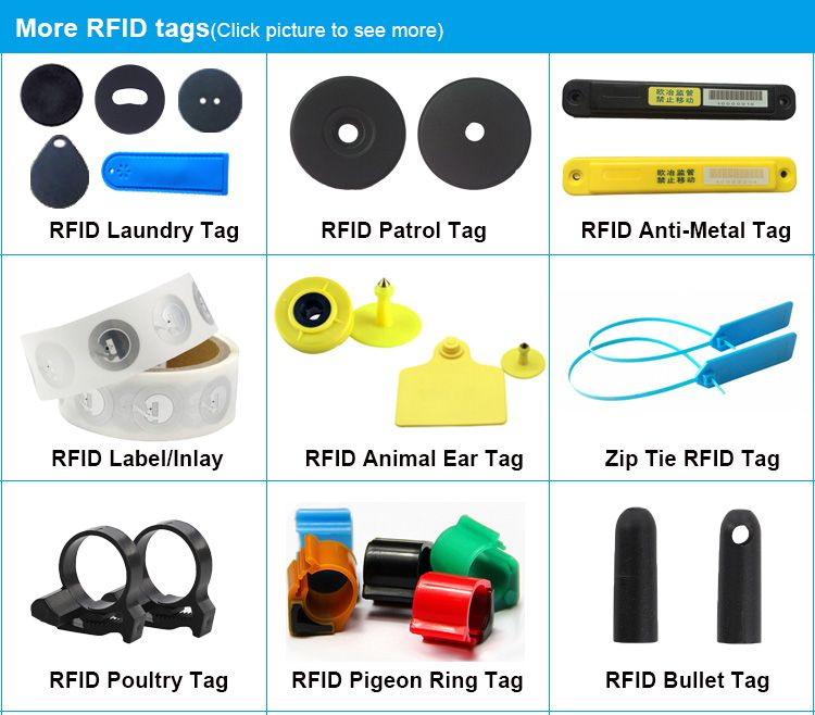 8 common forms and applications of UHF RFID tags