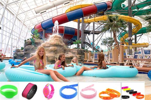 RFID used to revolutionize water parks, theme parks and resorts.