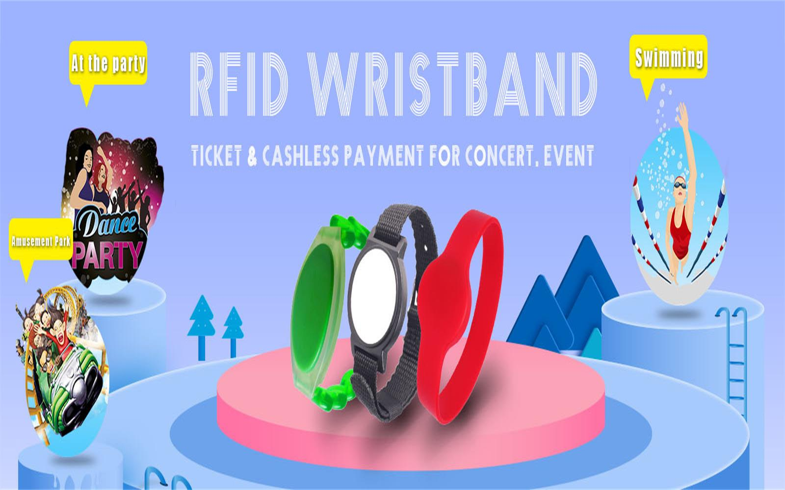 Application of RFID wristband.