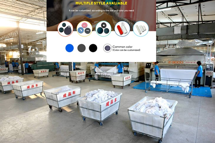 RFID laundry management system