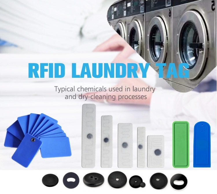 Laundry can use RFID technology to deploy washing system