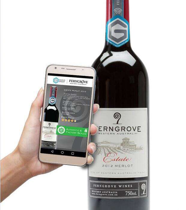 RFID anti - counterfeiting system program for Wine